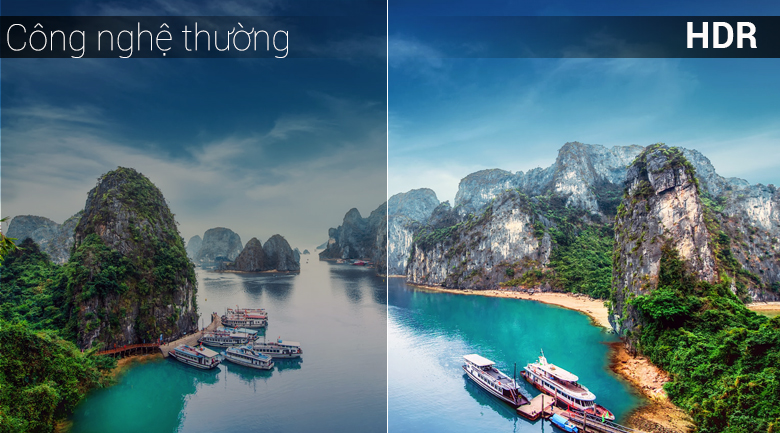 Công nghệ HDR - Android Tivi TCL 43 inch 43S6500
