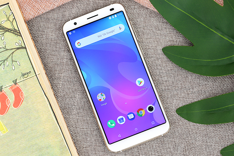 Giao diện Android của điện thoại Coolpad N3D