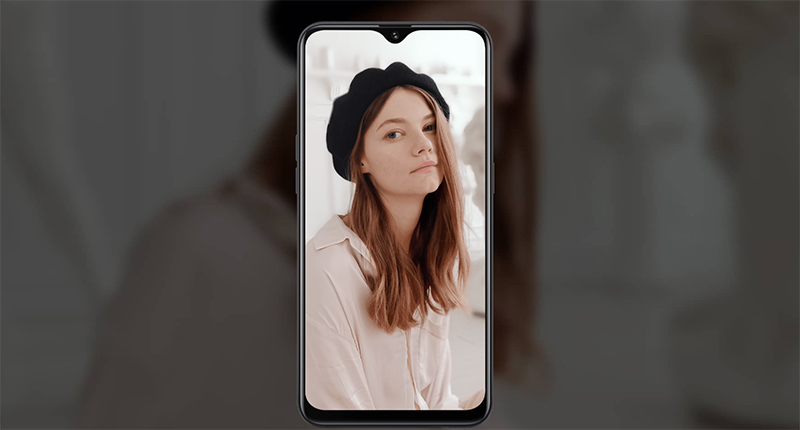 Điện thoại smartphone OPPO A5s | Ảnh selfie